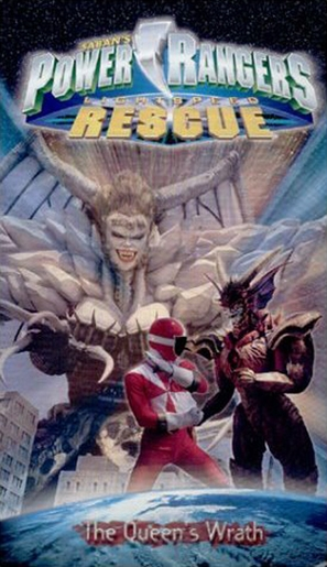 """Power Rangers Lightspeed Rescue"" - VHS movie cover (thumbnail)"