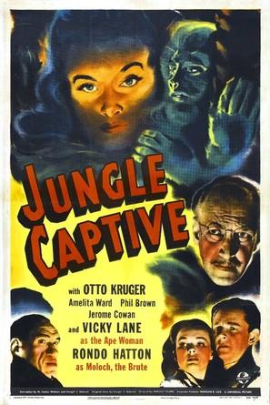 The Jungle Captive - Movie Poster (thumbnail)