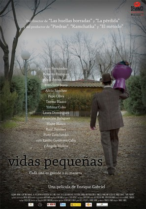 Vidas pequeñas - Spanish Movie Poster (thumbnail)