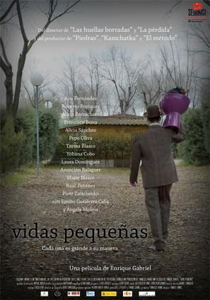Vidas pequeñas - Spanish Movie Poster (thumbnail)