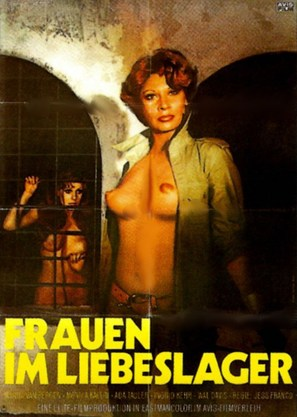 Frauen im Liebeslager - German Movie Poster (thumbnail)