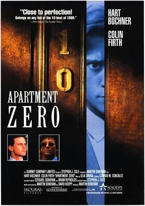 Apartment Zero - Movie Poster (thumbnail)