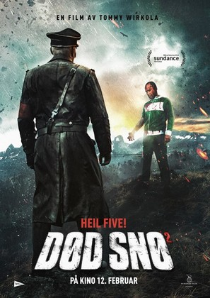 Død Snø 2 - Norwegian Movie Poster (thumbnail)