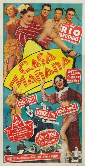 Casa Manana - Movie Poster (thumbnail)