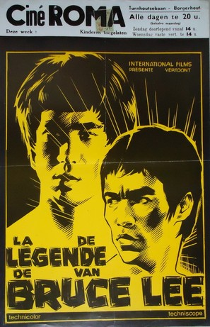 Bruce Lee, the Legend - Belgian Movie Poster (thumbnail)