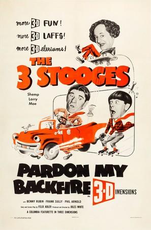 Pardon My Backfire - Movie Poster (thumbnail)