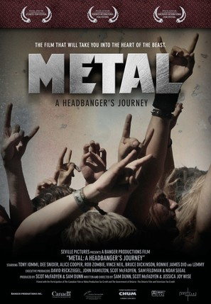 Metal: A Headbanger's Journey - Movie Poster (thumbnail)