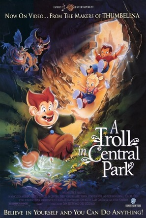 A Troll in Central Park - Movie Poster (thumbnail)