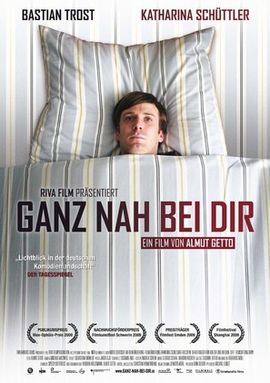 Ganz nah bei Dir - German Movie Poster (thumbnail)