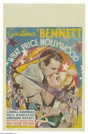 What Price Hollywood? - Theatrical poster (thumbnail)