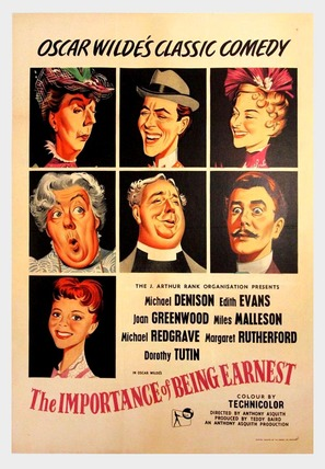 The Importance of Being Earnest - Movie Poster (thumbnail)
