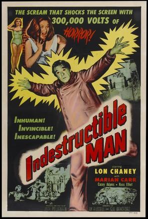 Indestructible Man - Movie Poster (thumbnail)