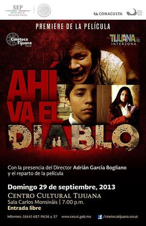 Ahí va el diablo - Mexican Movie Poster (thumbnail)