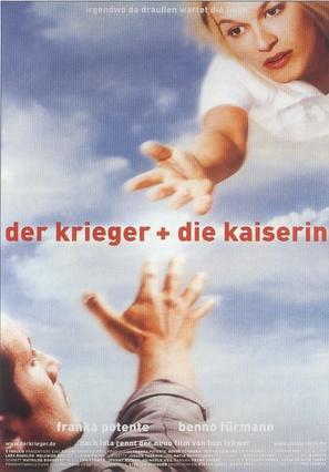 Der Krieger und die Kaiserin - German Movie Poster (thumbnail)