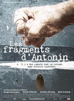 Les fragments d'Antonin - French Movie Poster (thumbnail)