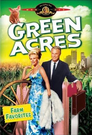 """Green Acres"" - DVD cover (thumbnail)"