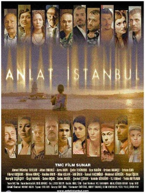 Anlat Istanbul - Turkish Movie Poster (thumbnail)