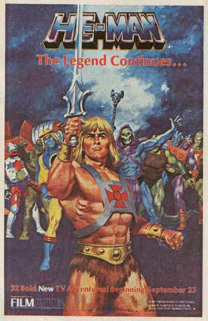 """He-Man and the Masters of the Universe"" - Movie Poster (thumbnail)"