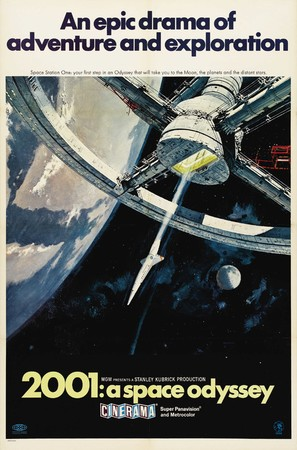 2001: A Space Odyssey - Movie Poster (thumbnail)