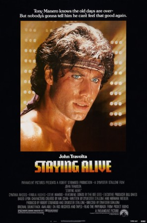 Staying Alive - Theatrical poster (thumbnail)