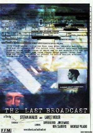 The Last Broadcast - poster (thumbnail)
