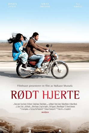 Rødt hjerte - Norwegian Movie Poster (thumbnail)