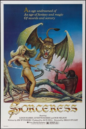 Sorceress - Theatrical poster (thumbnail)