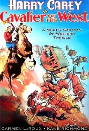 Cavalier of the West - Movie Poster (thumbnail)