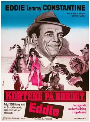 Cartes sur table - Danish Movie Poster (thumbnail)