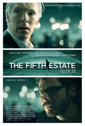 The Fifth Estate - Movie Poster (thumbnail)
