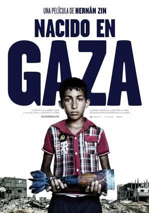 Nacido en Gaza - Spanish Movie Poster (thumbnail)