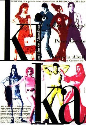 Kika - Spanish Movie Poster (thumbnail)