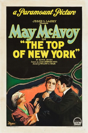 The Top of New York - Movie Poster (thumbnail)