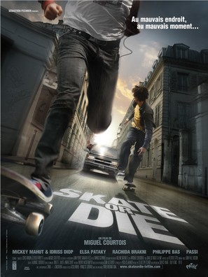 Skate or Die - French Movie Poster (thumbnail)