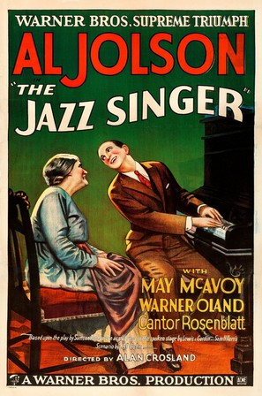 The Jazz Singer - Movie Poster (thumbnail)
