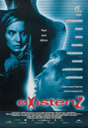 eXistenZ - Canadian Movie Poster (thumbnail)