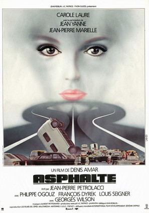 Asphalte - French Movie Poster (thumbnail)