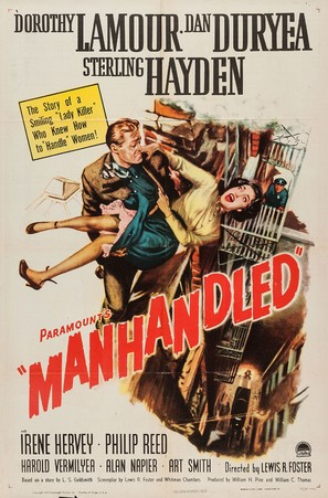 Manhandled - Movie Poster (thumbnail)