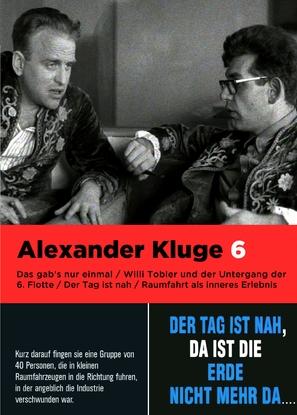 Willi Tobler und der Untergang der 6. Flotte - German DVD cover (thumbnail)