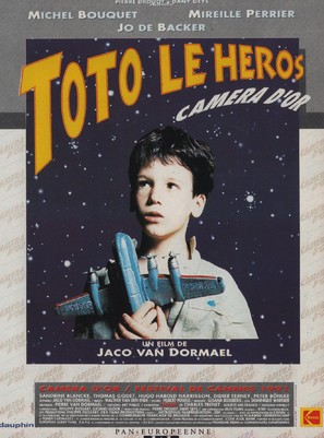 Toto le héros - French Movie Poster (thumbnail)
