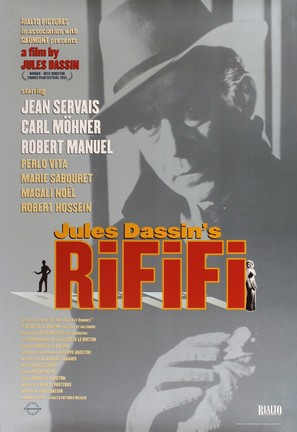 Du rififi chez les hommes - Movie Poster (thumbnail)