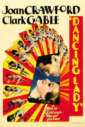 Dancing Lady - Movie Poster (thumbnail)