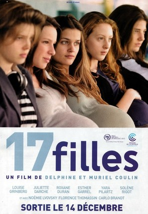 17 filles - French Theatrical movie poster (thumbnail)