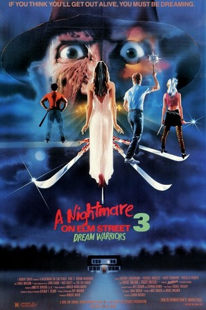 A Nightmare On Elm Street 3: Dream Warriors - Movie Poster (thumbnail)