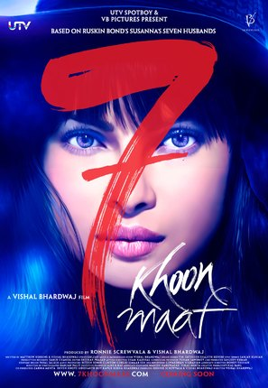 Saat Khoon Maaf - Indian Movie Poster (thumbnail)