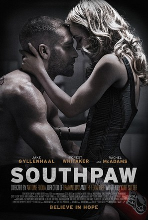 Southpaw - Theatrical poster (thumbnail)