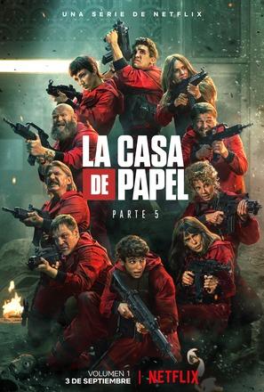 """La casa de papel"" - Spanish Movie Poster (thumbnail)"
