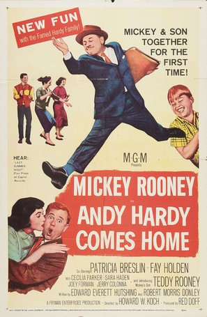 Andy Hardy Comes Home - Movie Poster (thumbnail)