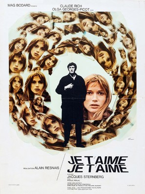 Je t'aime, je t'aime - French Movie Poster (thumbnail)