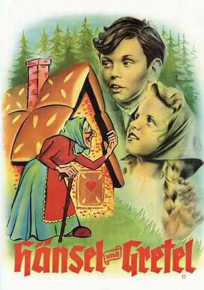 Hänsel und Gretel - German Movie Poster (thumbnail)